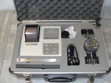 equipment for measuring cracks and strains on materials, including mounting slabs.